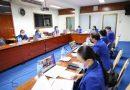 การประเมินคุณภาพการศึกษาภายในสาขาวิชาการจัดการวันที่ 18 พฤษภาคม 2564